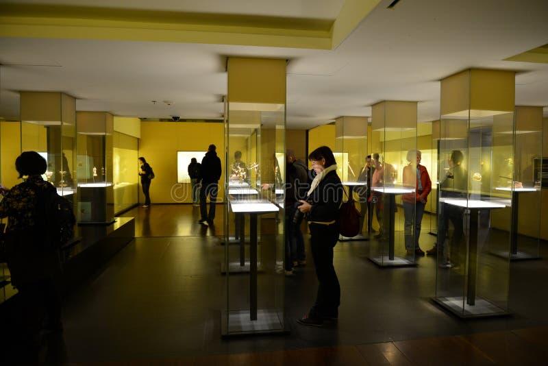 Goldmuseum in Bogota stockfotografie