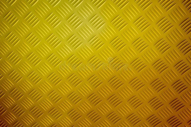 Goldmusterart der Messingplatte stockfotos