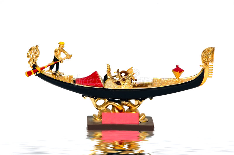 Goldola Ride royalty free stock photography