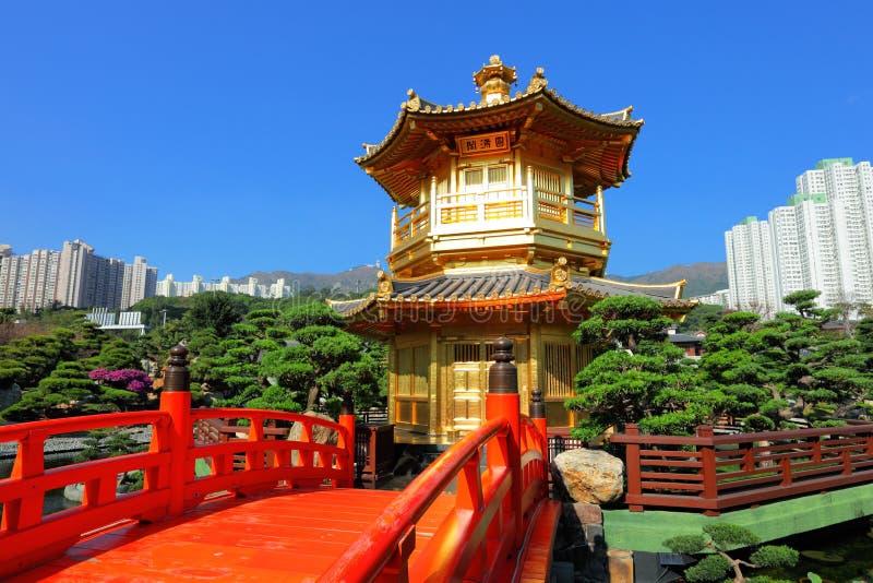 Download Goldpavillion stockfoto. Bild von schön, bahn, orientalisch - 26352820