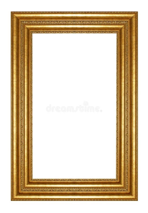 Goldrahmen lizenzfreies stockbild