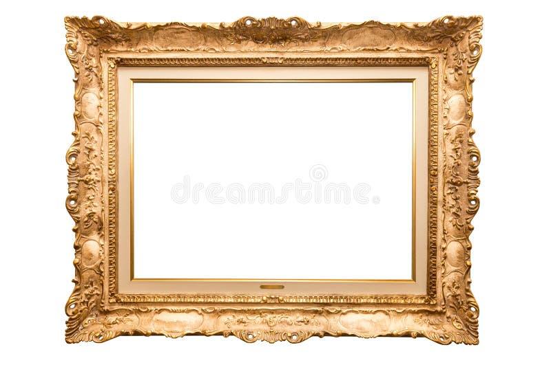 Goldrahmen stockbild