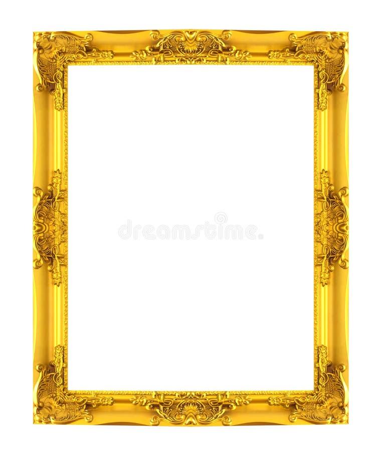 Goldrahmenbeschaffenheit lizenzfreie abbildung