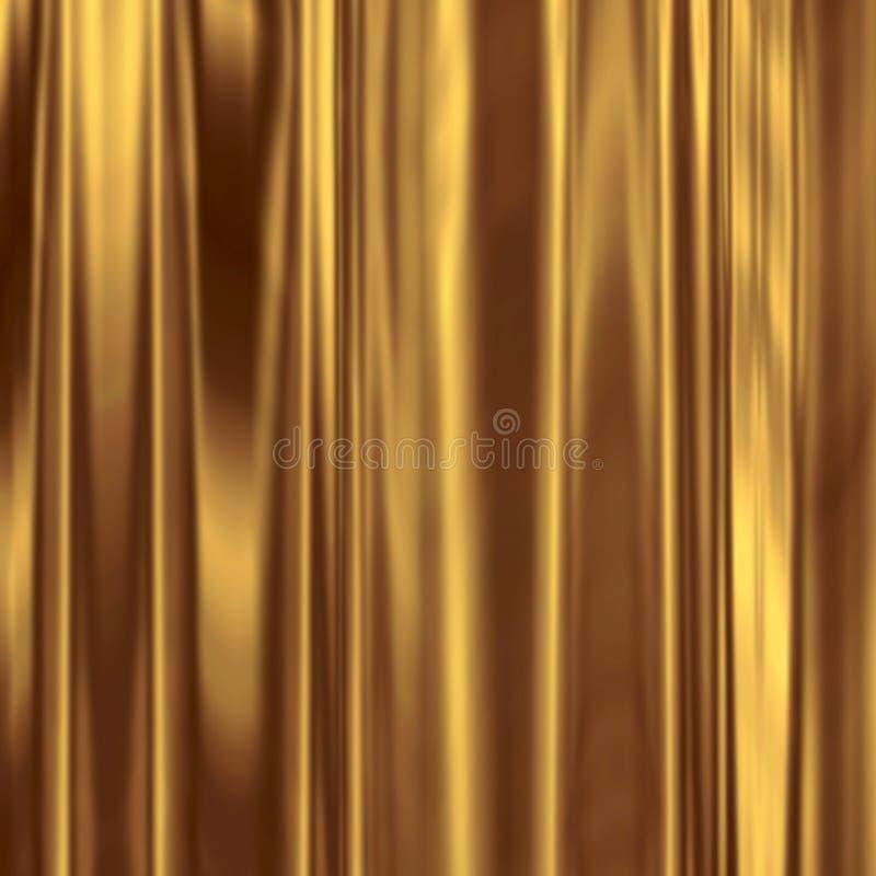 Goldseide vektor abbildung