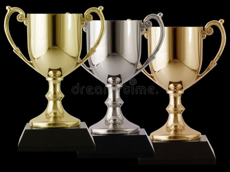 Goldsilber und -bronze stockfotografie