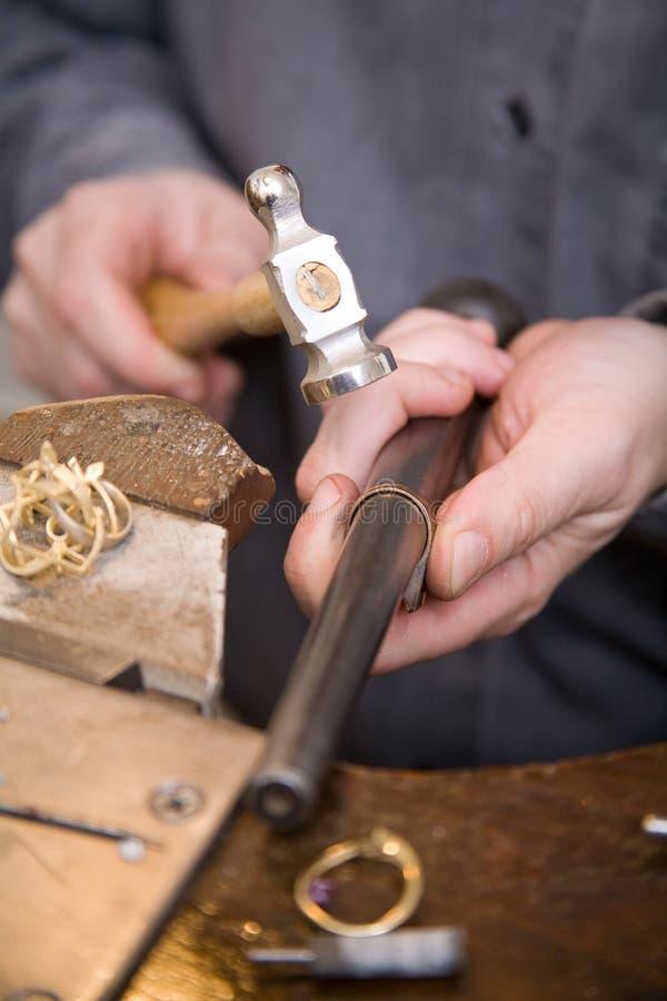 Download Goldsmith stock image. Image of metal, armlet, minor, jewel - 8027371