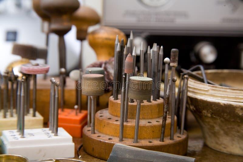 Download Goldsmith tools stock image. Image of bead, fingers, bracelet - 8027857