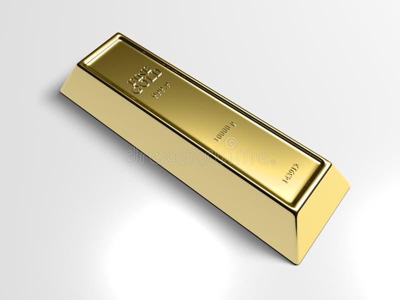 Goldstab lizenzfreie abbildung