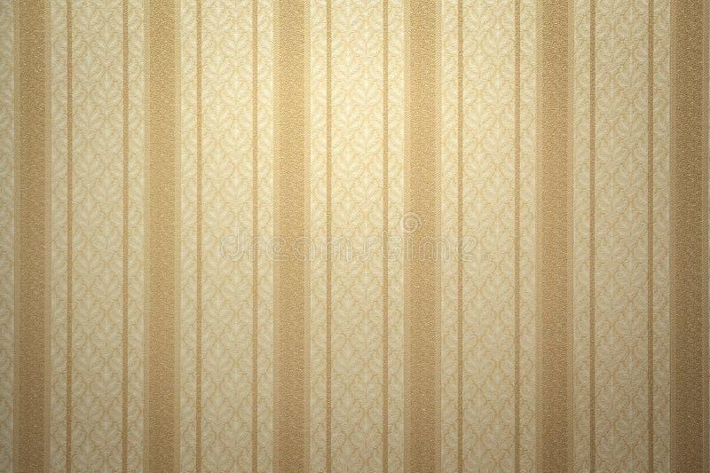 Goldtapete stockfoto