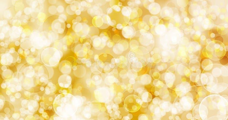 Goldtoneachtergrond royalty-vrije illustratie