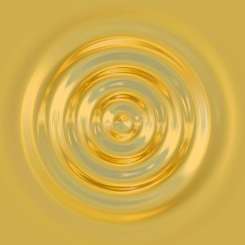 Goldtropfen lizenzfreie abbildung