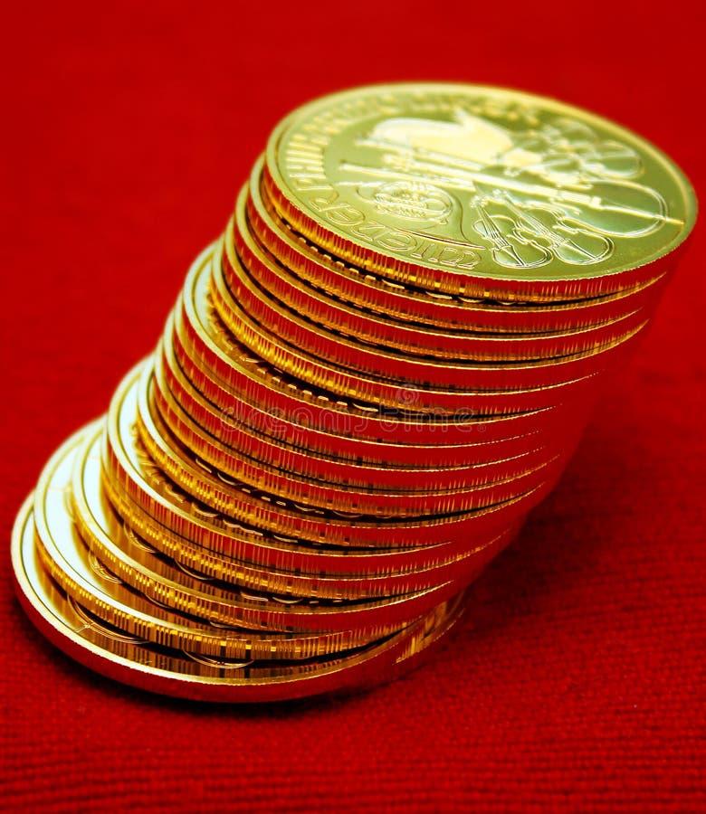 Goldunzen lizenzfreie stockfotos