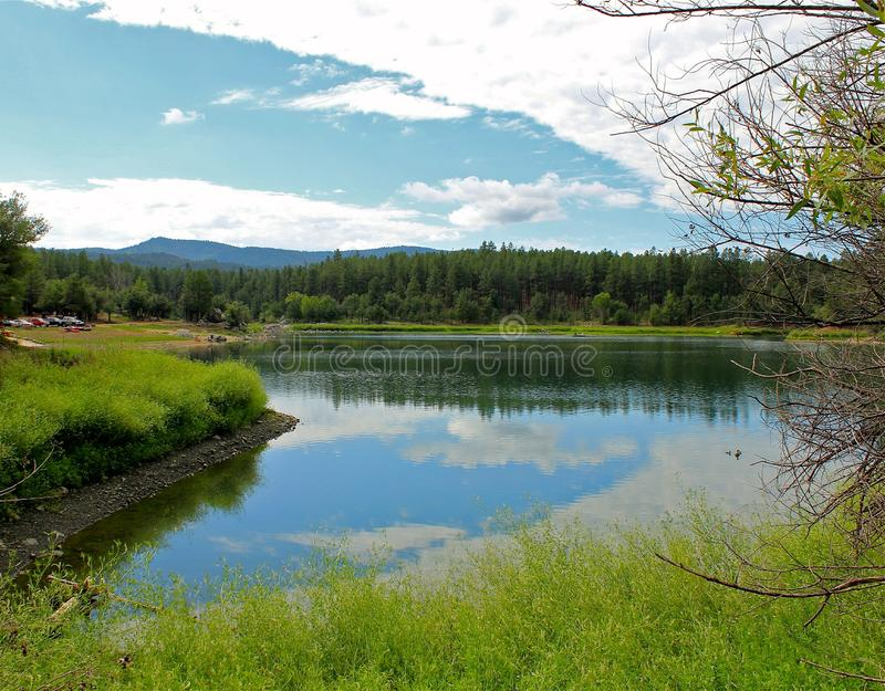 Goldwater Lake stock images