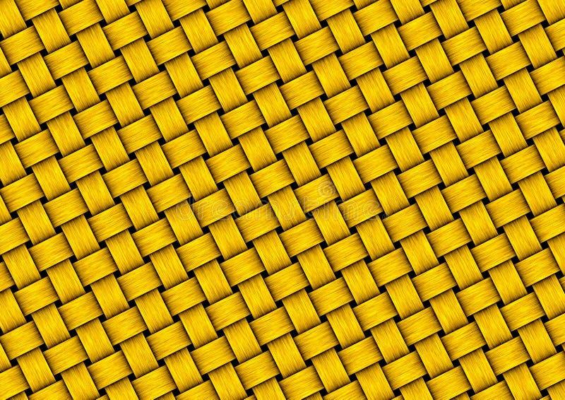 Download Goldwebartbeschaffenheit stock abbildung. Illustration von künstlerisch - 174303