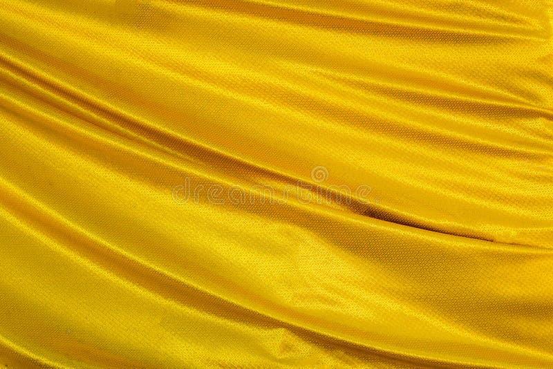 Goldwellengewebe stockbild