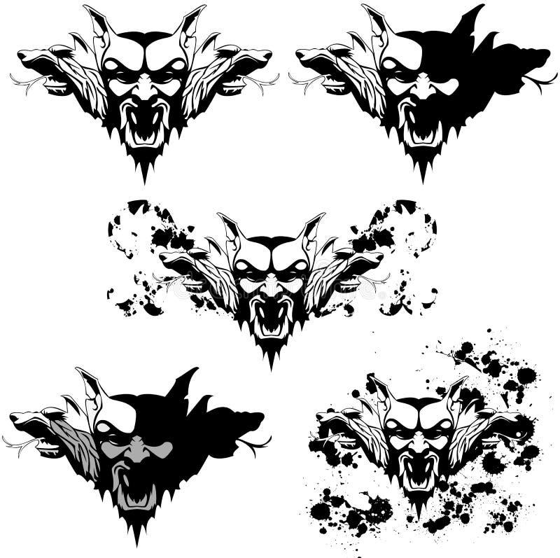 Golem do vampiro ilustração do vetor