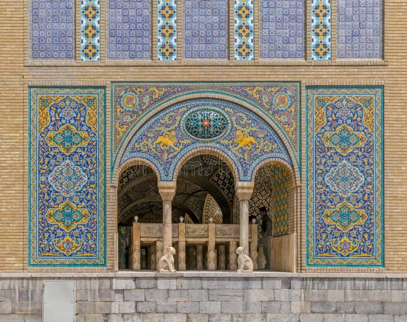 Golestan Palace building of Karim Khan of Zand royalty free stock photos
