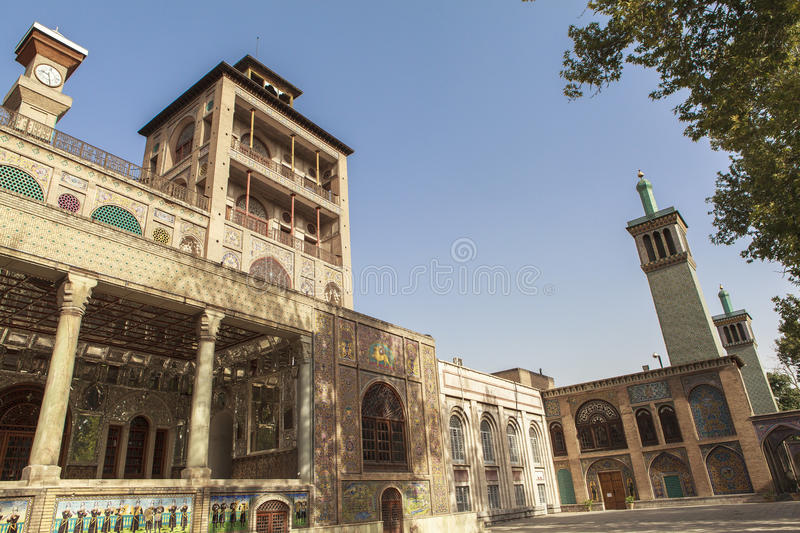 Golestan Palace in Tehran, Iran. This picture is taken at Tehran, Iran. The Golestan Palace Persian royalty free stock photos