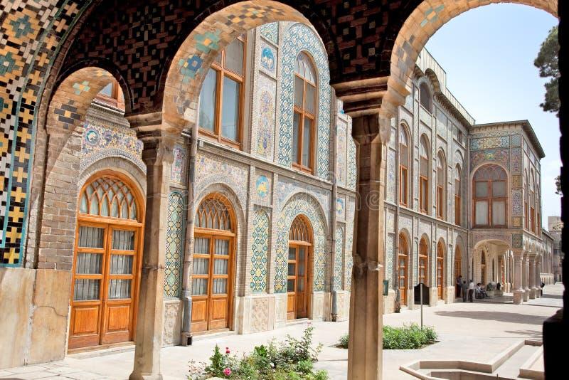Golestan slott, Tehran, Iran arkivbild