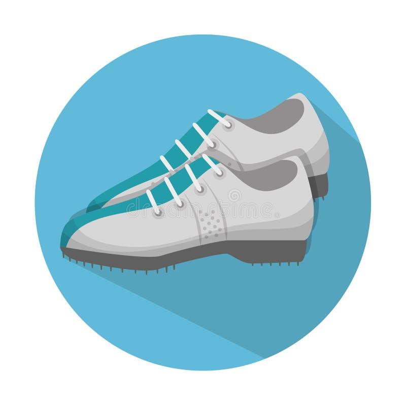 golfów butów projekt ilustracja wektor