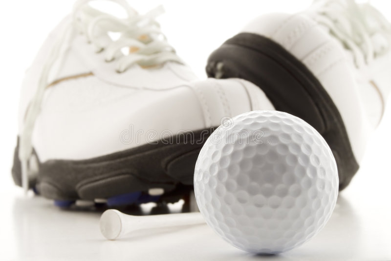 golf время стоковое изображение