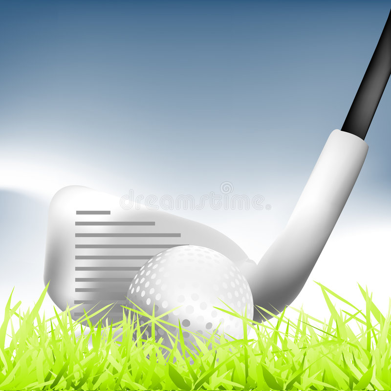 Download Golf 01 stock vector. Image of tools, illustration, vector - 6065696