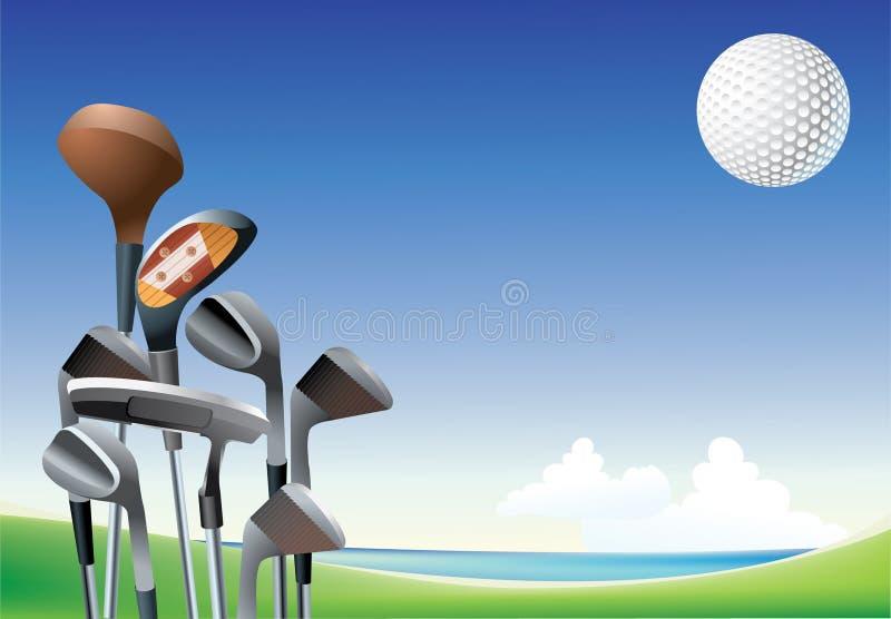 Golf stock illustratie