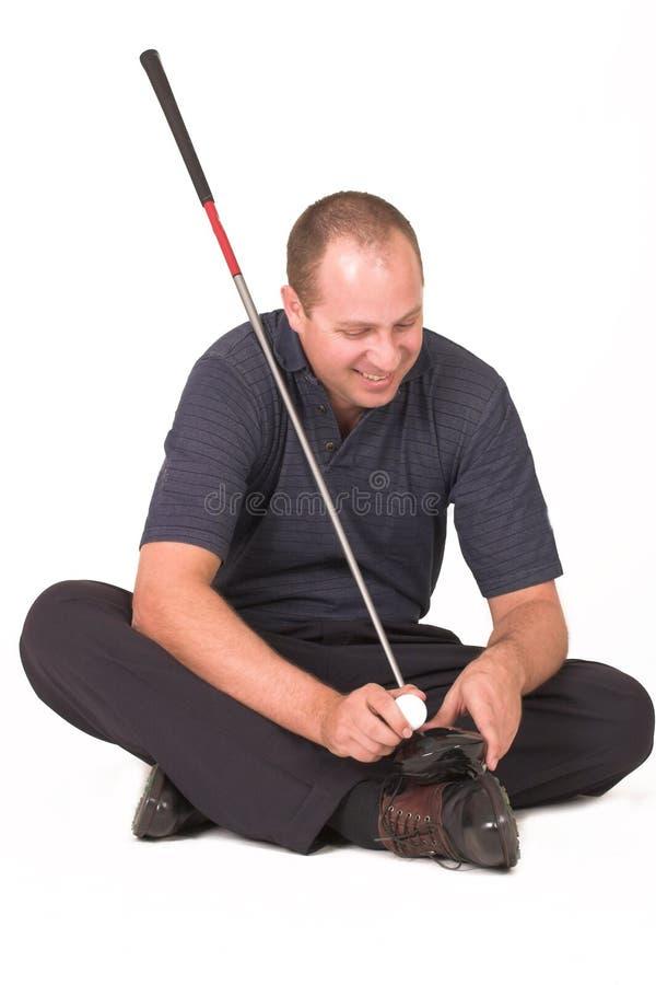 golf 11 royaltyfri bild