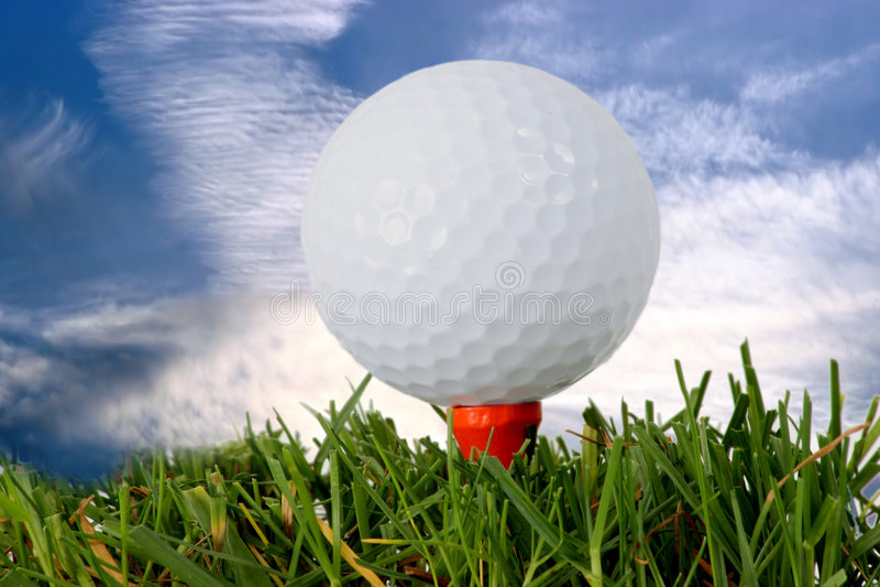 Golf lizenzfreie stockfotos