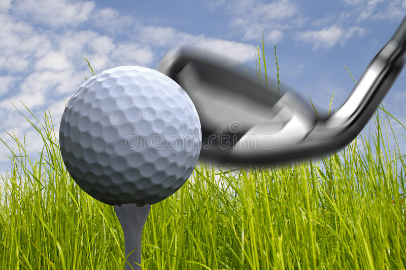 Golf royalty free stock photos