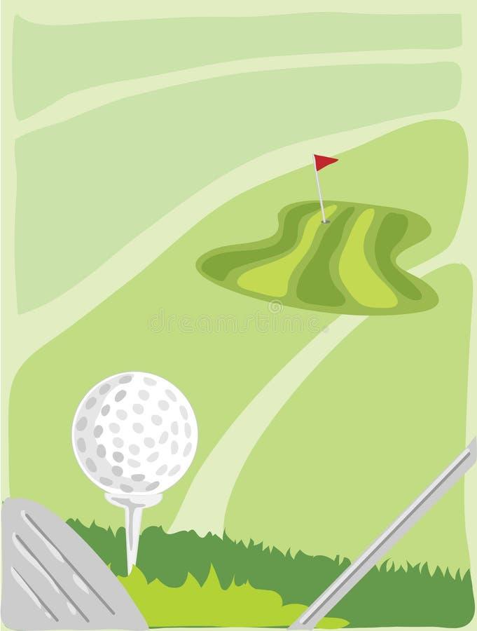 golf royalty ilustracja