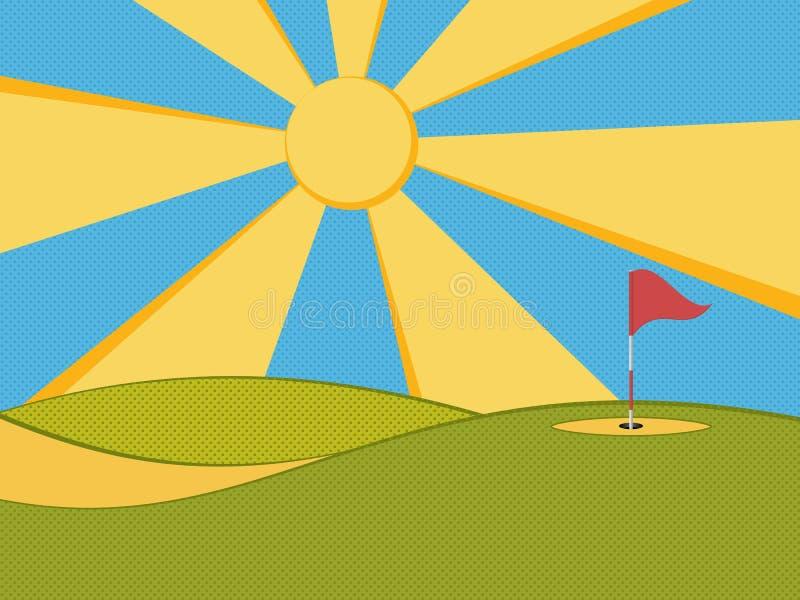 Golf 3 vektor abbildung