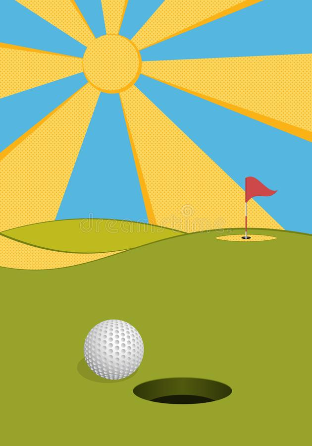Golf 5 stock abbildung