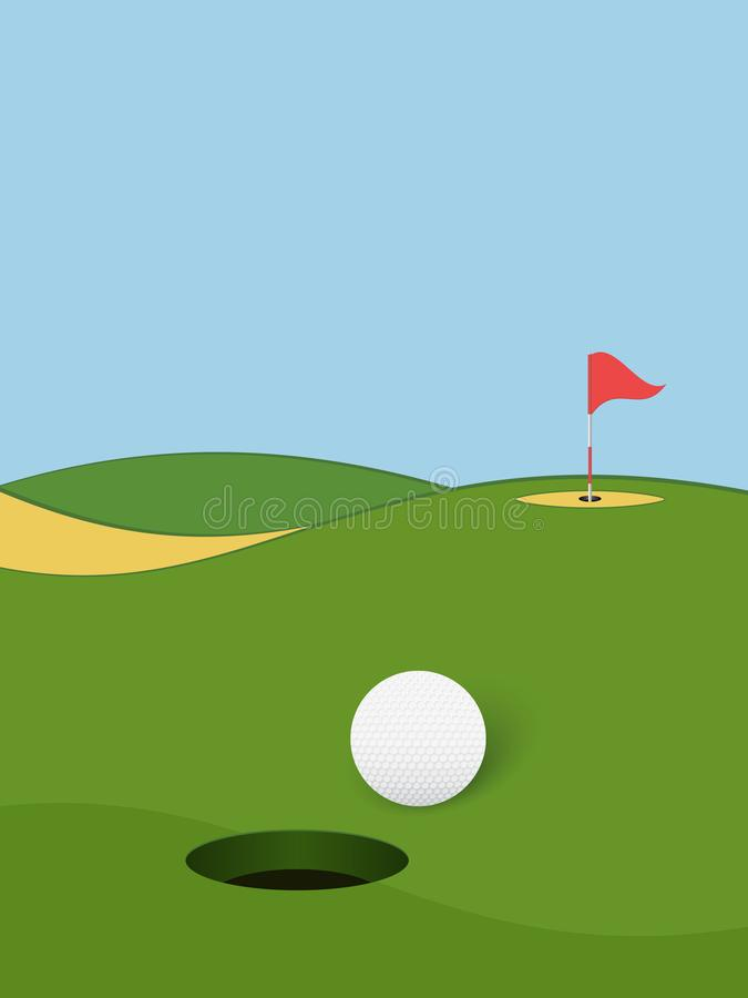 Golf 6 stock abbildung