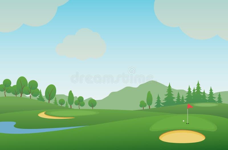 Golf 14 stock abbildung