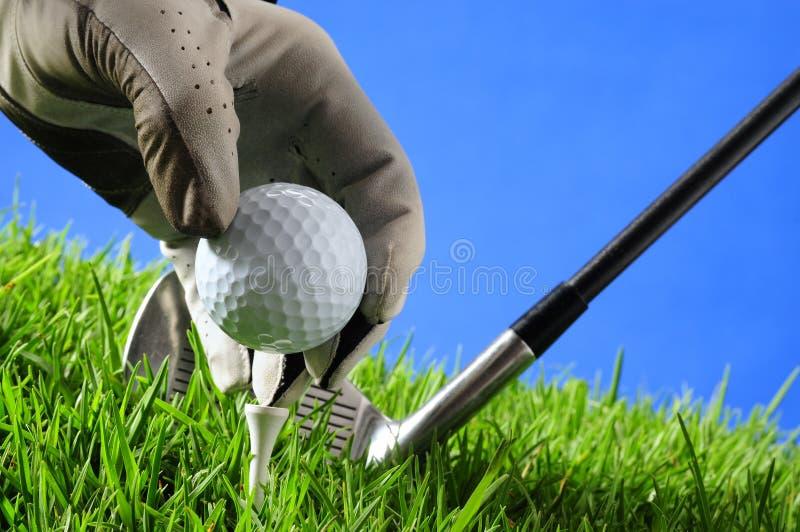 Golf. lizenzfreies stockbild
