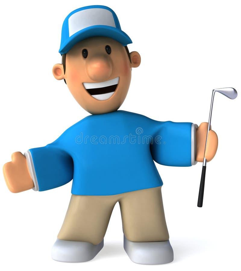 Golf libre illustration