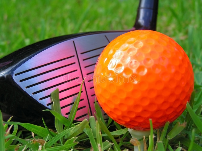 Golf photo stock