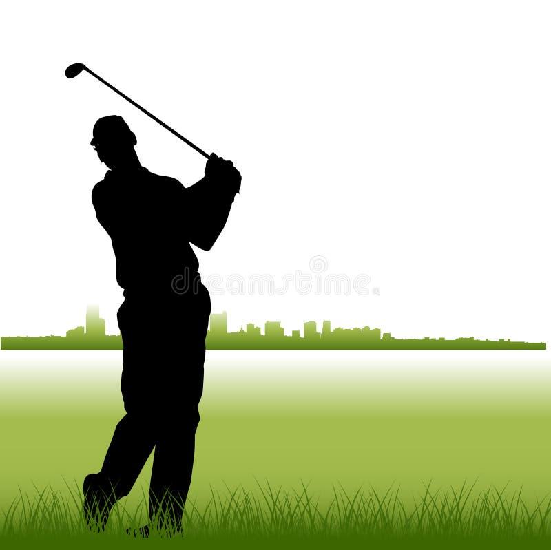 Golf vector illustratie