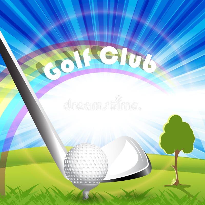 Golf vector illustration
