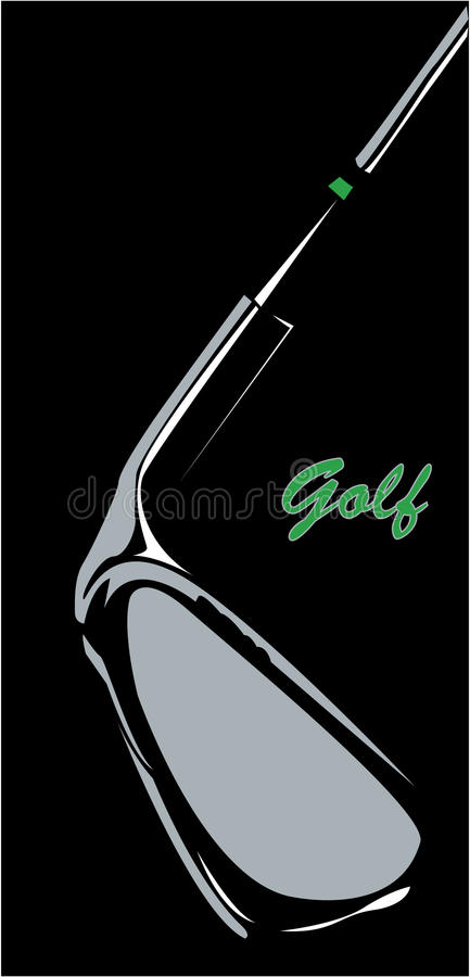 GOLF royalty-vrije illustratie