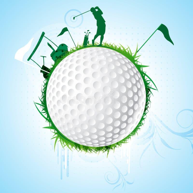 Golf illustrazione di stock