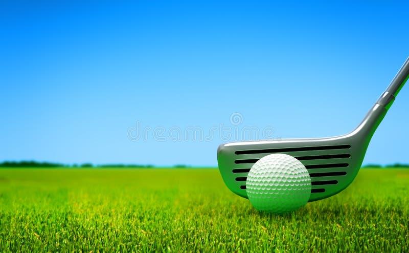 Golf stock illustration
