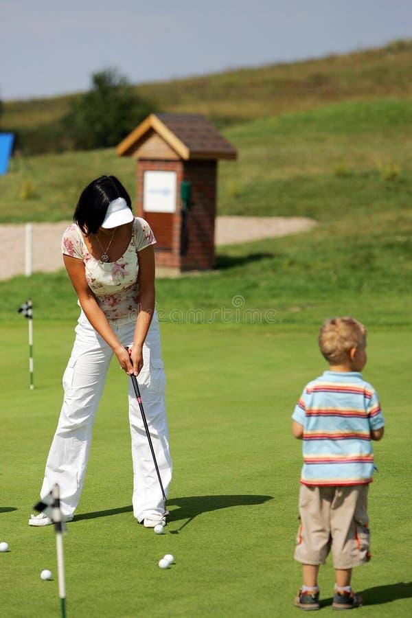 Golf fotografía de archivo