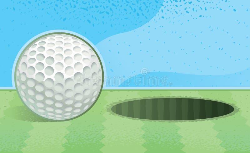 Golf royalty illustrazione gratis