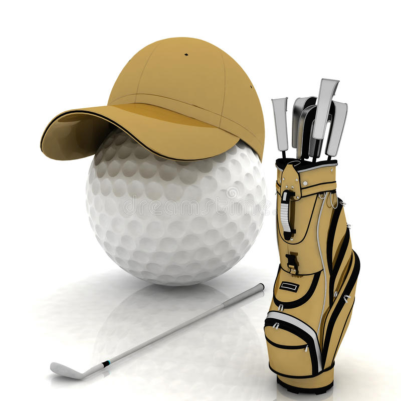 Free Golf Royalty Free Stock Photography - 20357427