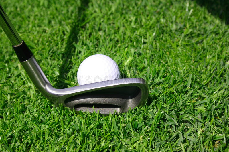 Download Golf stock image. Image of grass, course, real, iron, ball - 2300759