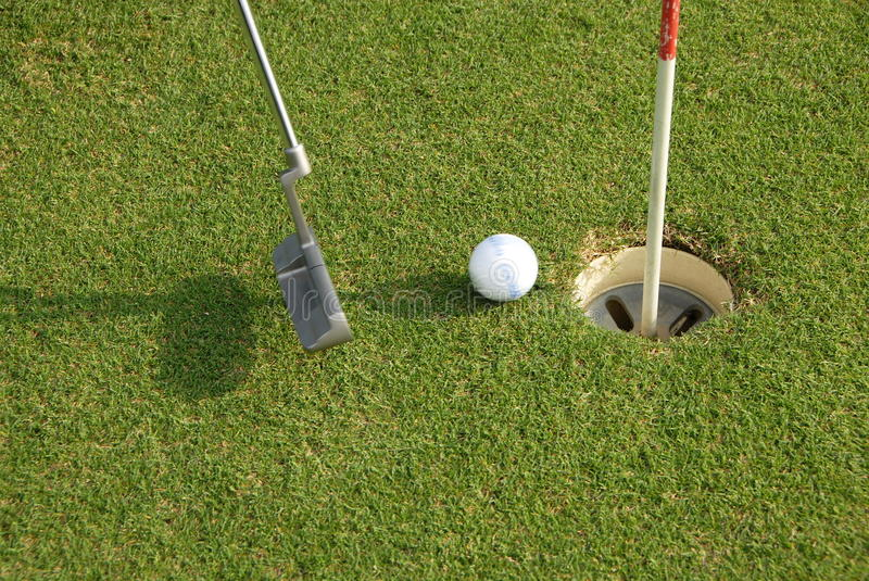 Download Golf stock image. Image of playing, grass, outside, hole - 28039603