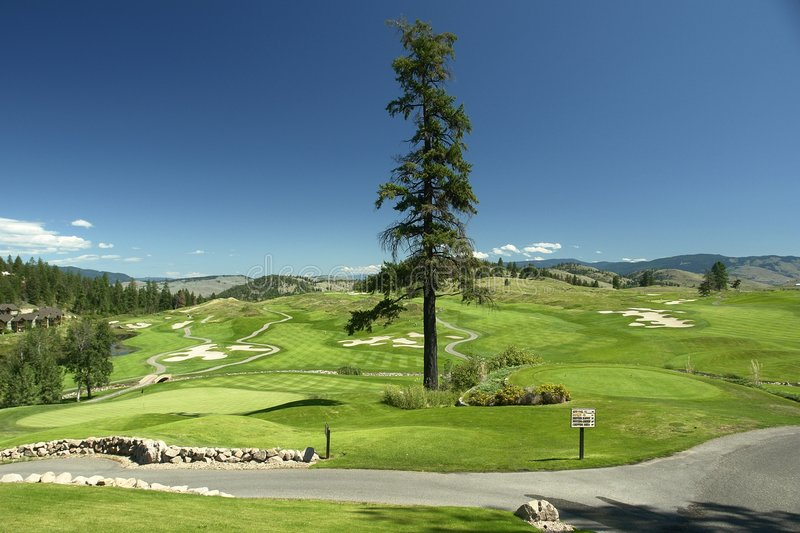 Download Golf stock photo. Image of panoramic, path, golfing, scenic - 2870294