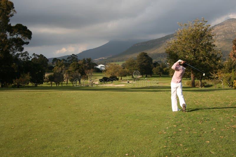 Golf royalty-vrije stock afbeeldingen